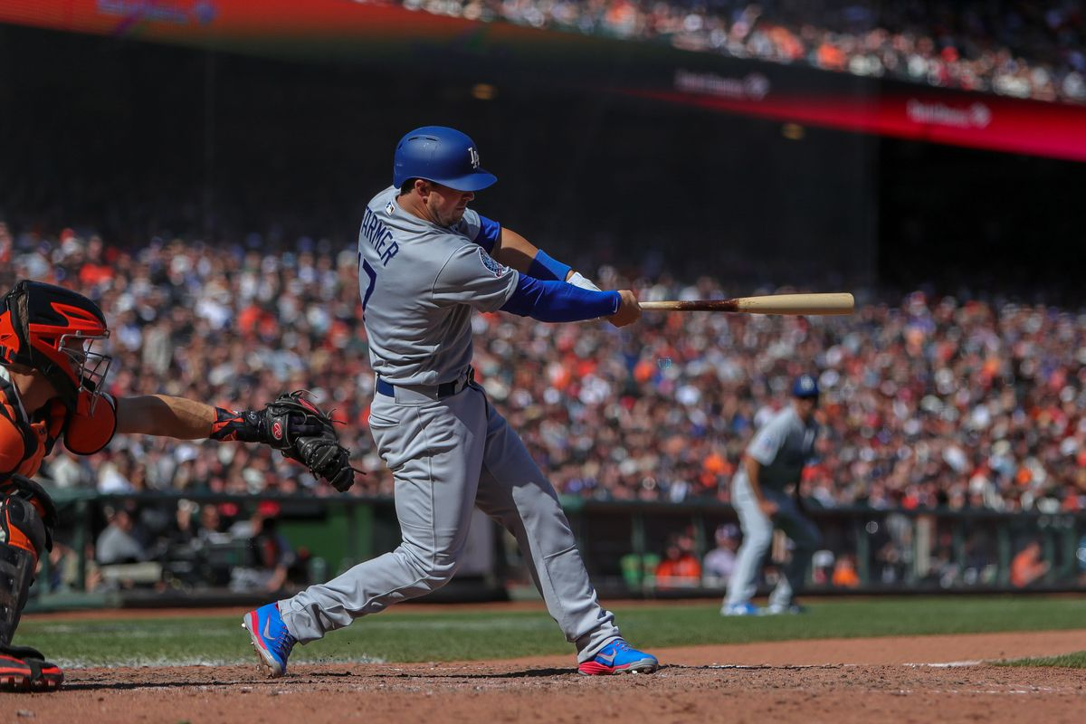Dodgers vs. Giants results: Kyle Farmer RBI double wins it for LA - True  Blue LA