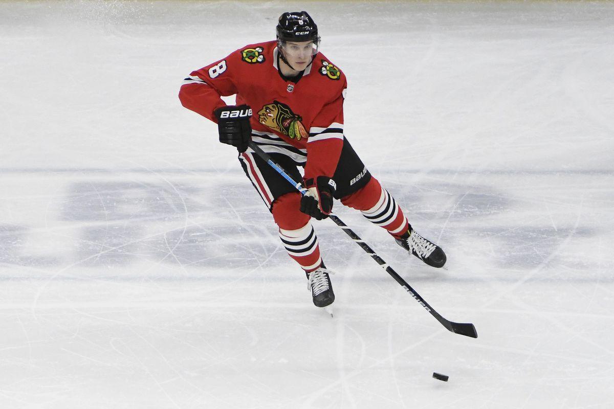 Dominik Kubalik is skating with HC Plzen in his Czech Republic hometown this autumn.