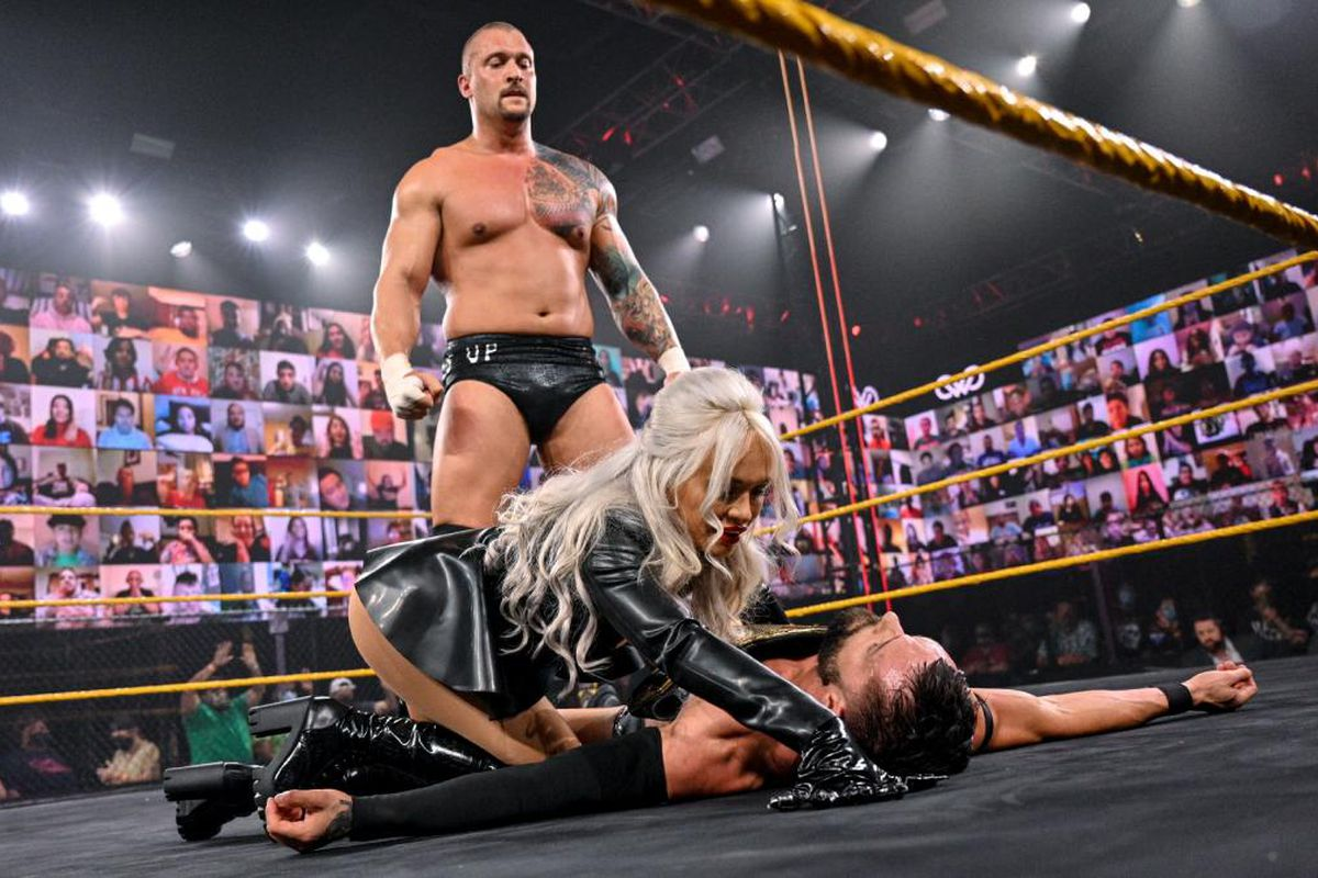 WWE NXT recap & reactions (Mar. 17, 2021): The champ takes the fall -  Cageside Seats