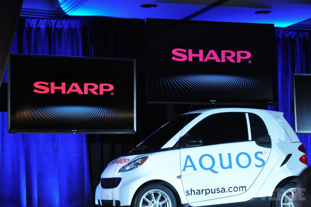 Sharp CES watermarked
