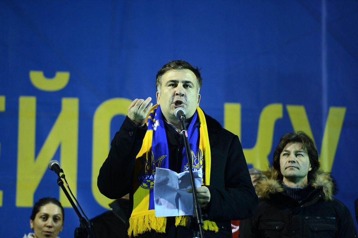 Saakashvili outgoing speech