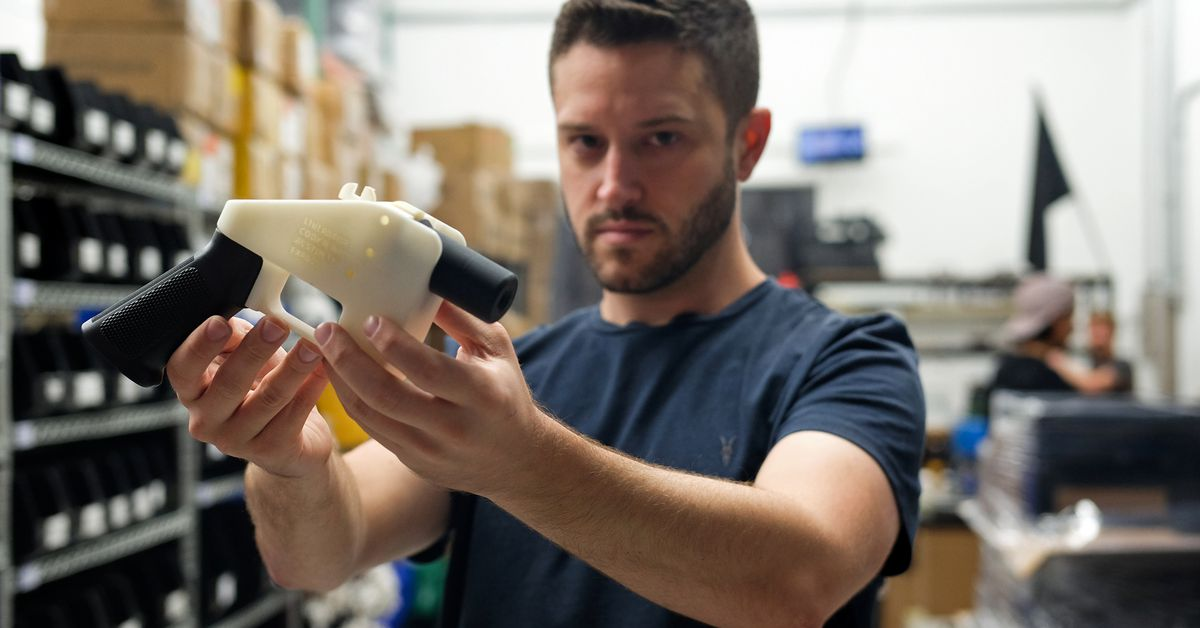 Defense Distributed's 3D-printed gun files are back online