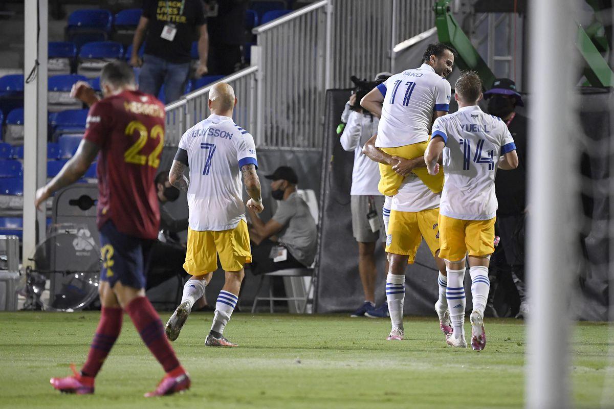 San Jose Earthquakes v Real Salt Lake: Knockout Round - MLS Is Back Tournament