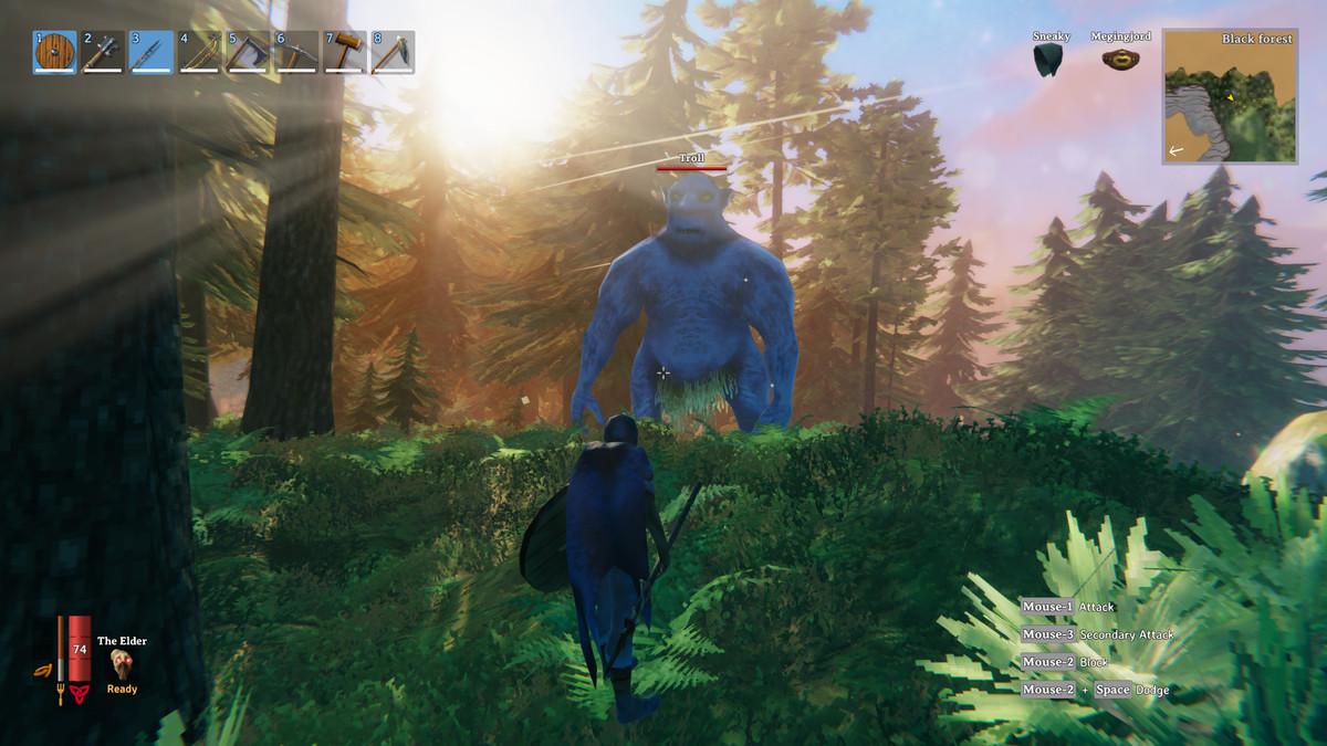 Valheim black forest trolls