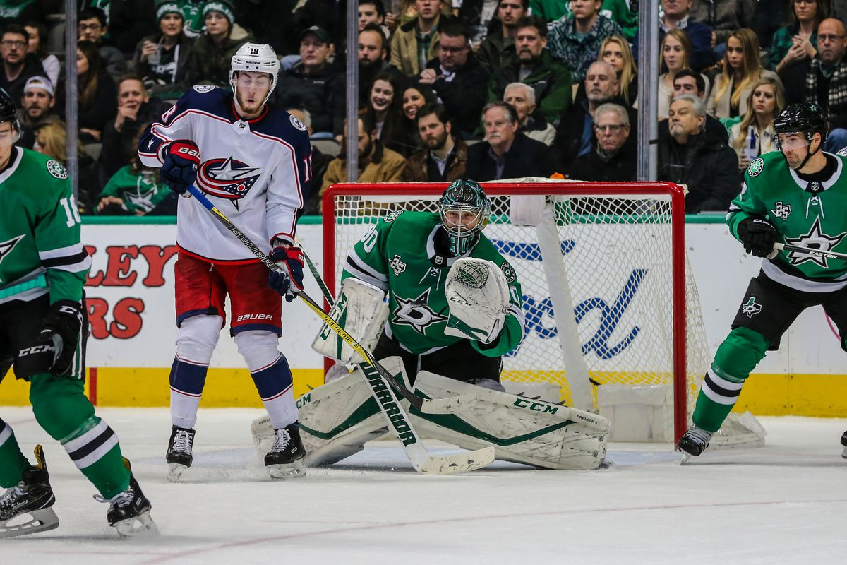 NHL: JAN 02 Blue Jackets at Stars