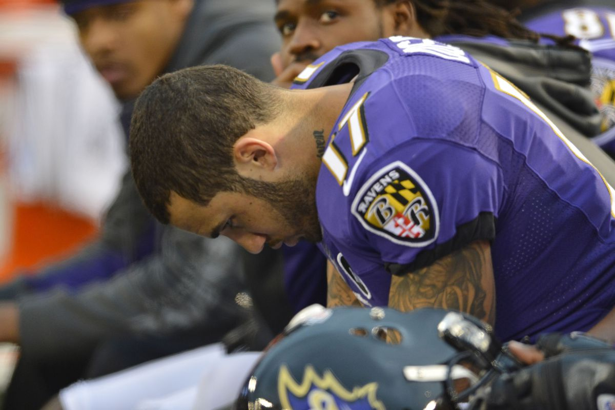 Tandon Doss was released by the Ravens on Saturday, along with six others.
