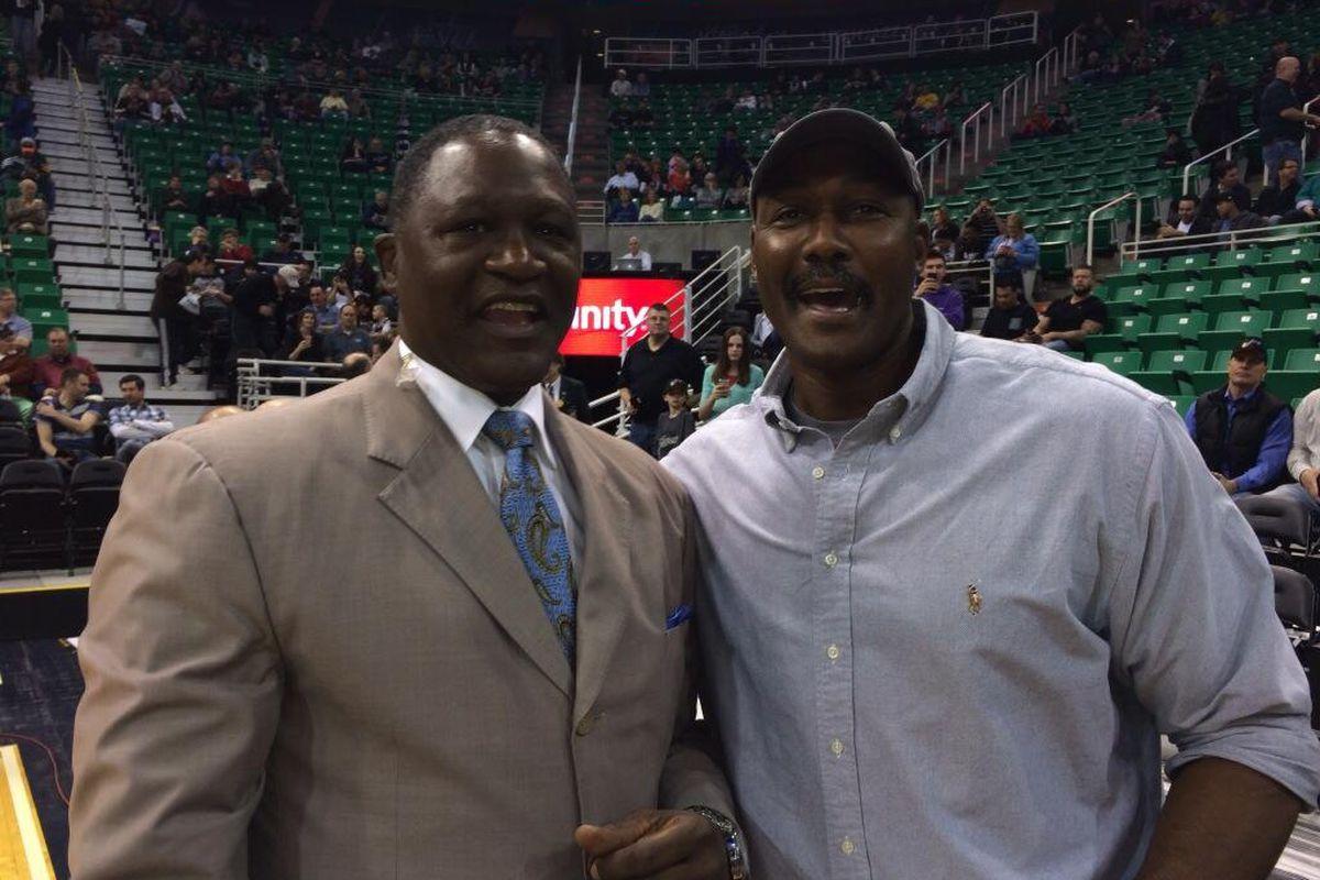 Close friends, but never Utah Jazz teammates.