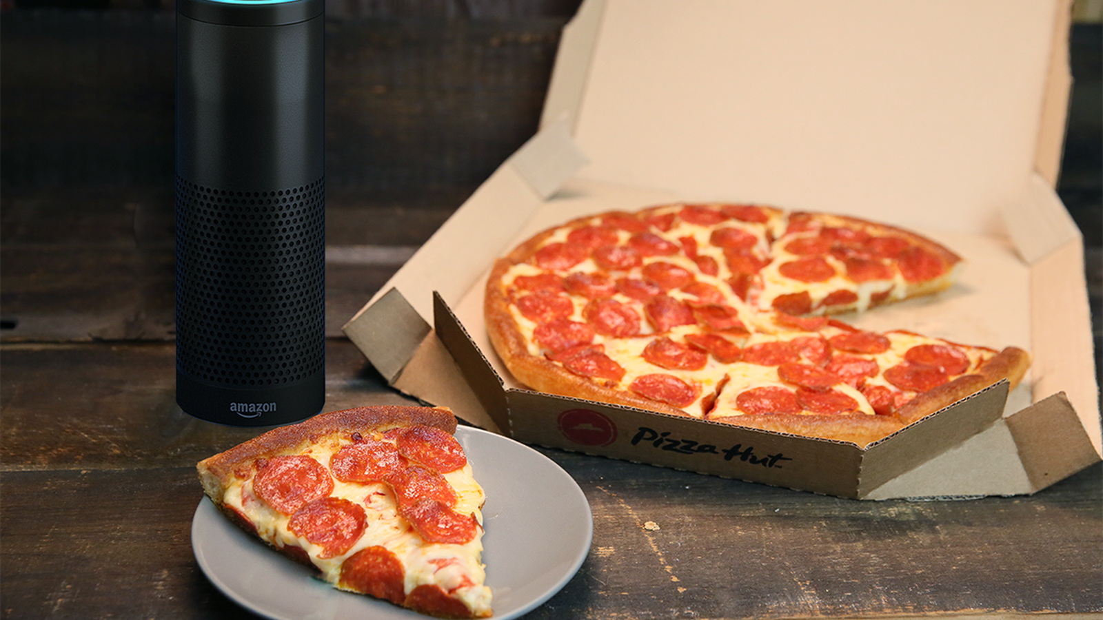 Pizza Hut Partners With Amazon To Let People Order Food