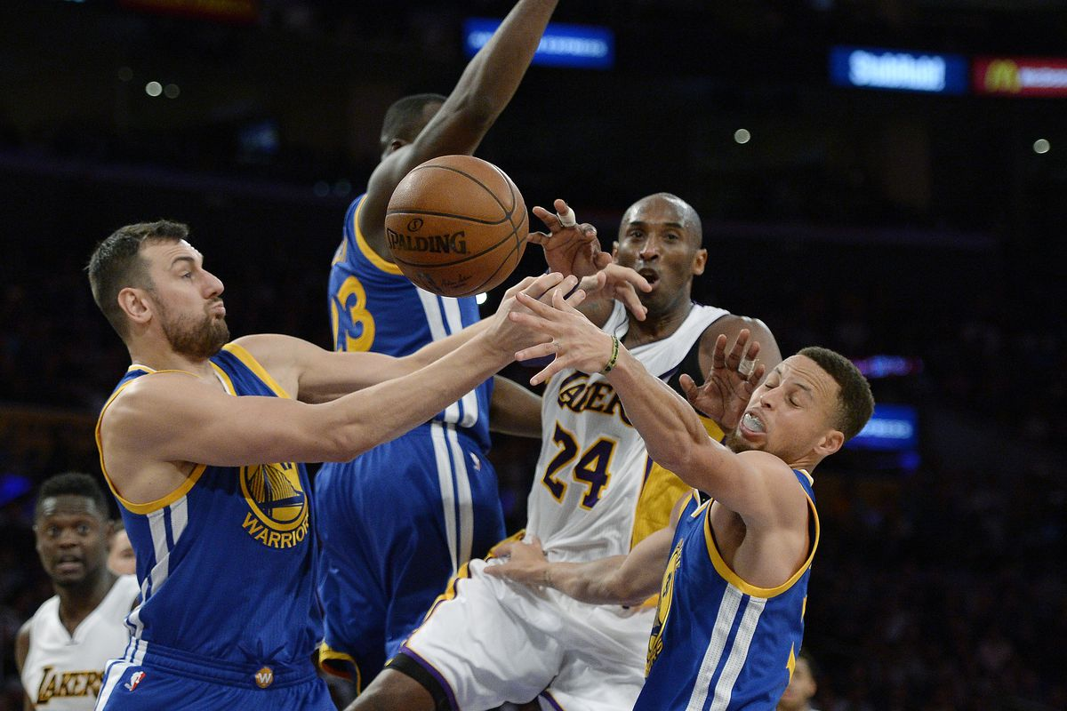 a869c8efa34d Lakers Kobe Bryant takes a shot at the Warriors fanbase - Golden ...