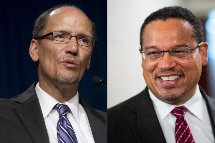 Tom Perez and Keith Ellison