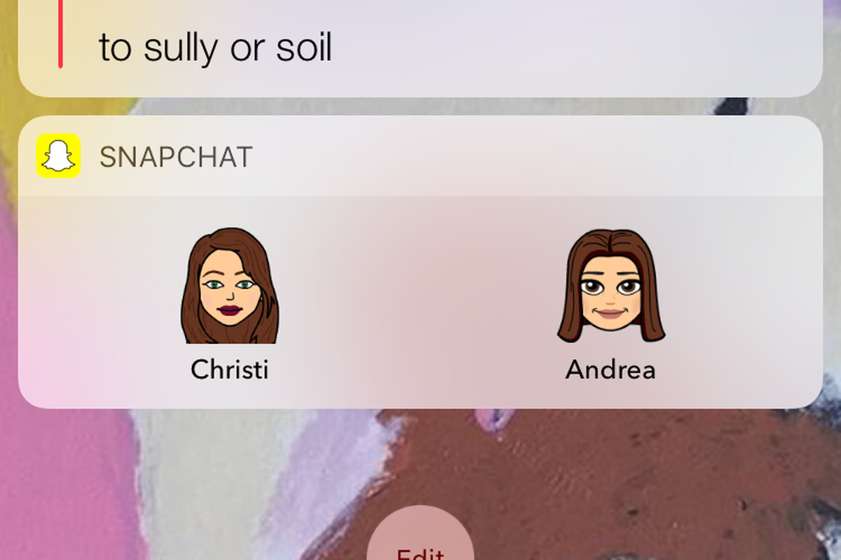 snapchat now lets everyone make bitmoji shortcuts of their friends