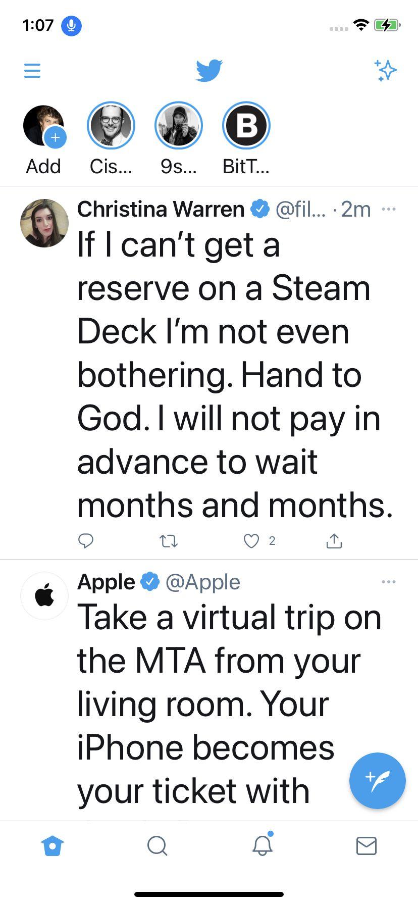 Ahora ha cambiado el tamaño del texto solo para esta aplicación.