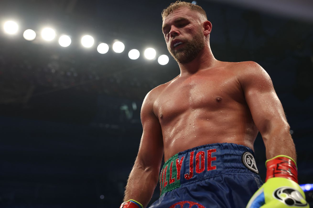 "<label><a href='https://www.mvpboxing.com/news/boxing/1620601826/Saunders-update-Multiple-fractures-and-surgery-on?ref=headlines' class='headline_anchor news_link'>Saunders update: ""Multiple fractures"" and surgery on orbital; Tibbs says he made decision to end fig</a></label><br />Michelle Farsi/Matchroom  Billy Joe Saunders will have surgery for ""multiple fractures,"" and h"
