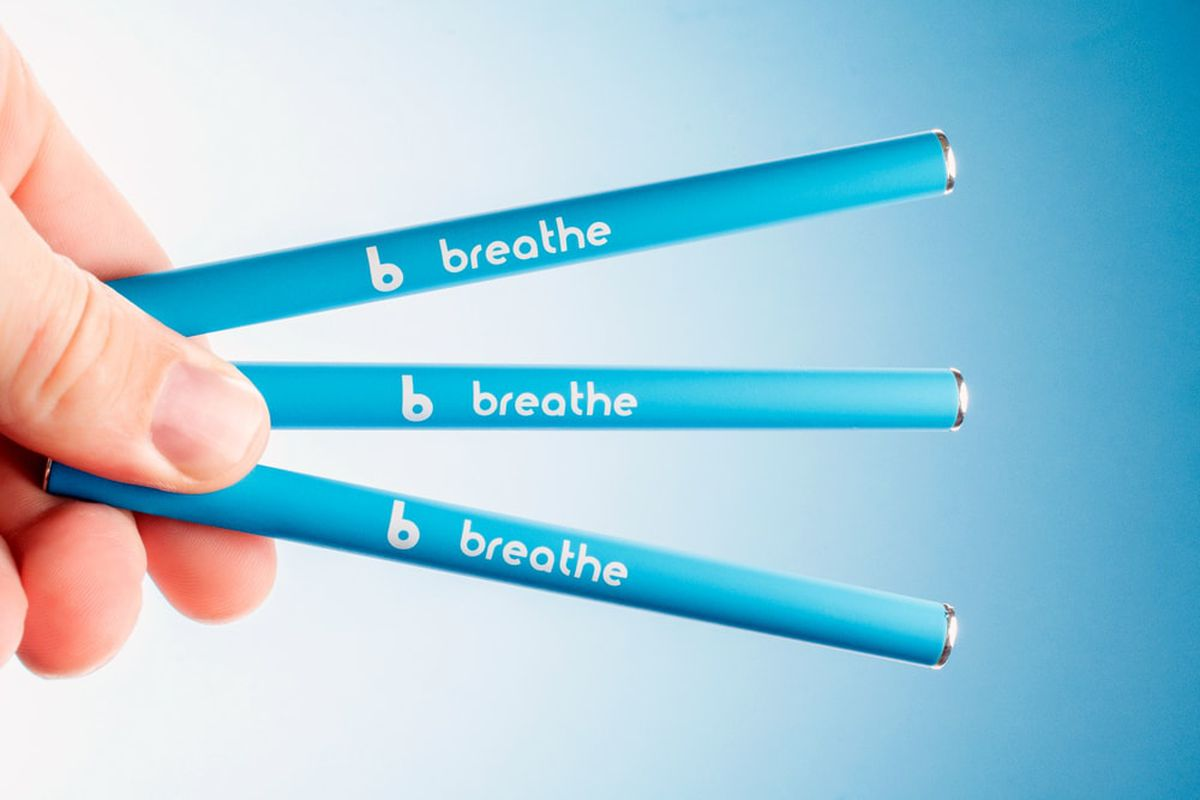 "Vitamin vaping ""wellness"" brands, like Monq and Breathe, are"