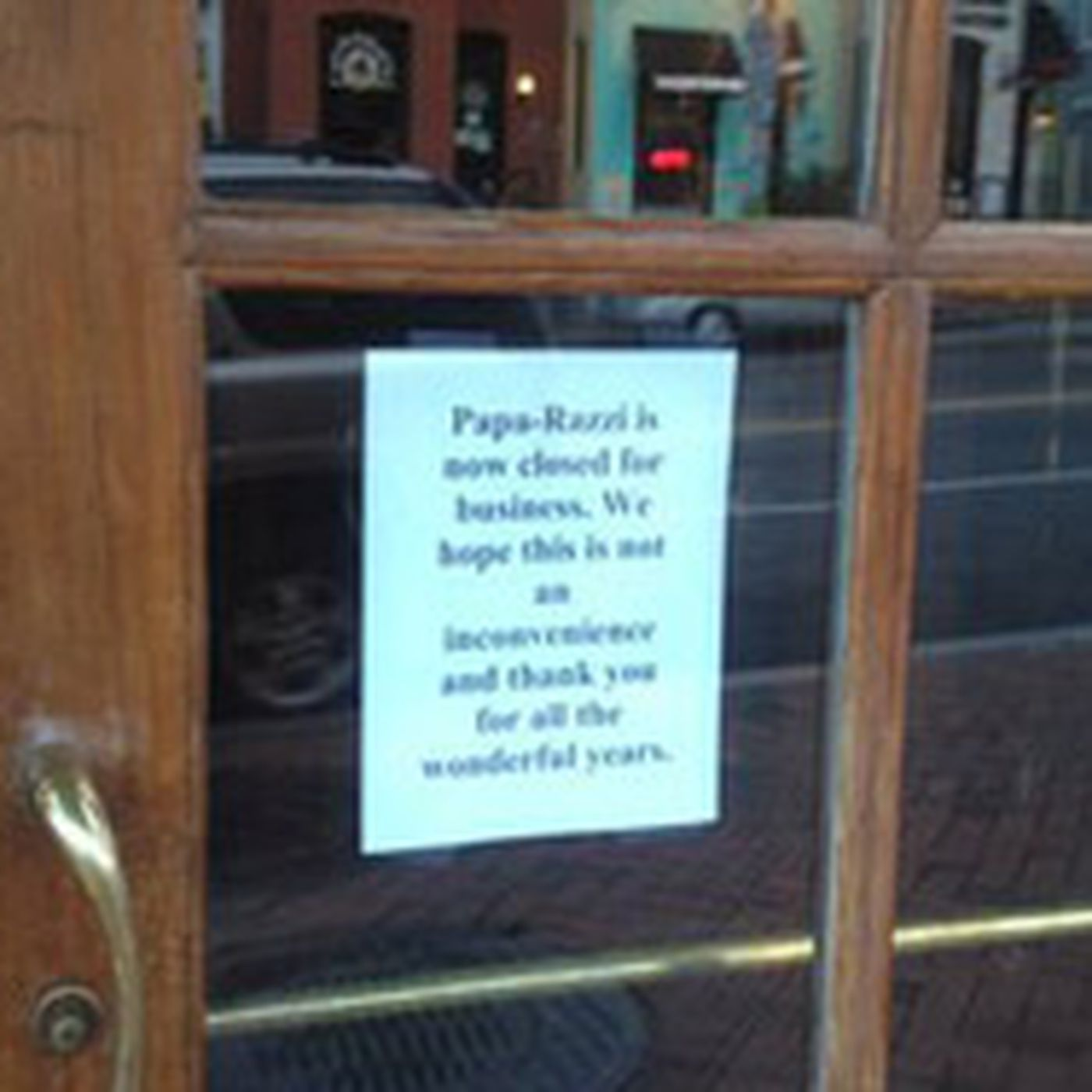 Papa-Razzi Closes in Georgetown; ShopHouse Updates - Eater DC
