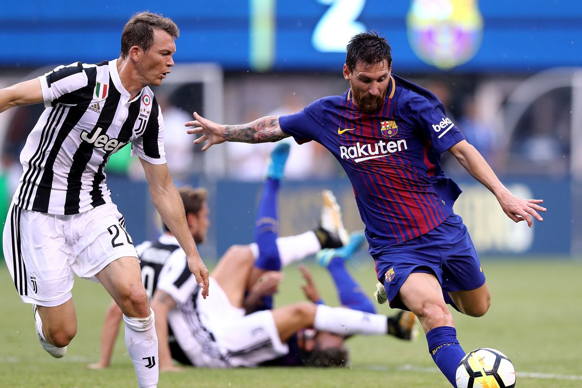 Juventus Vs Barcelona 2017 International Champions Cup Final Score 1 2 Barca Win Preseason Opener Barca Blaugranes