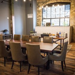 Private dining space is available for special occassions.