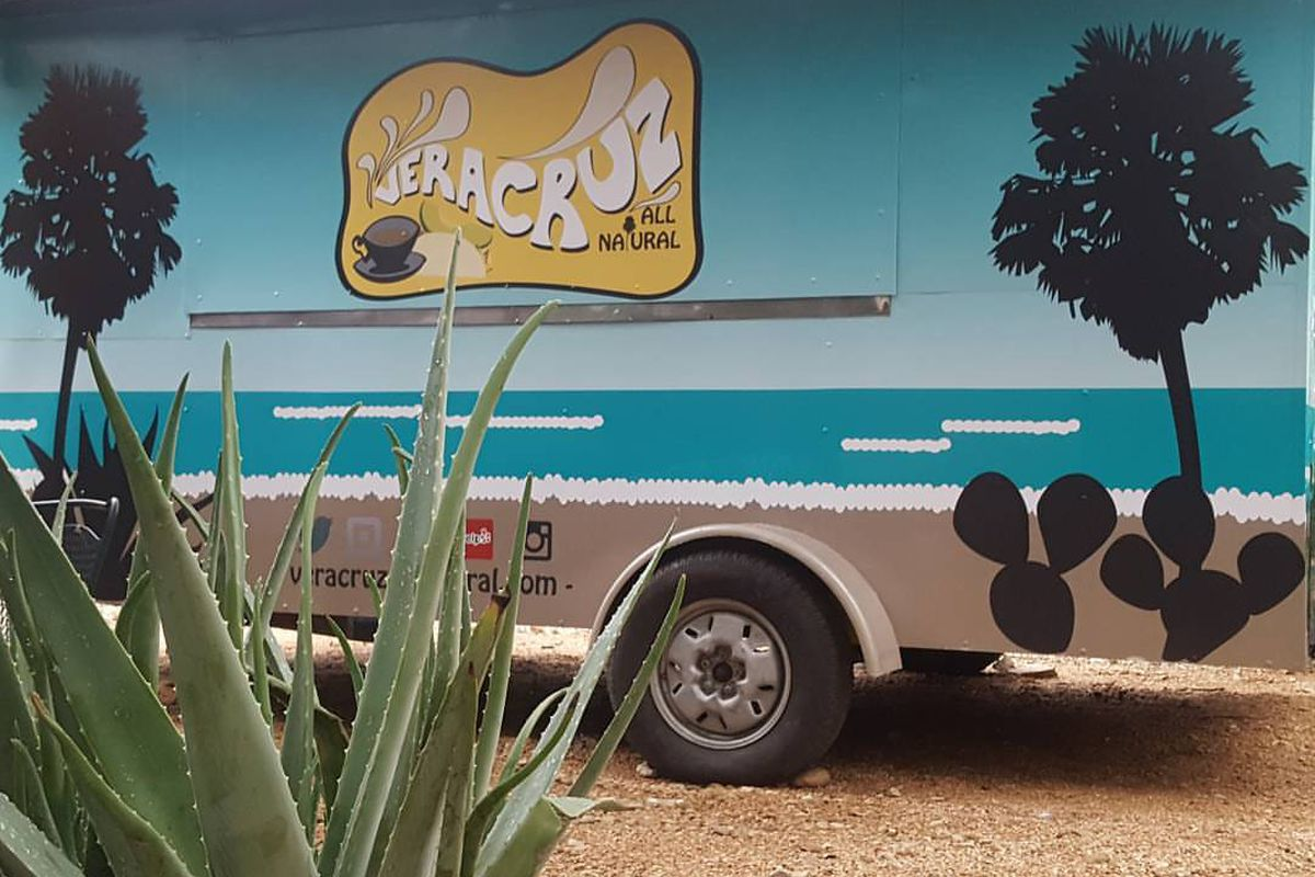 Veracruz All Natural's second trailer at Radio Coffee & Bar