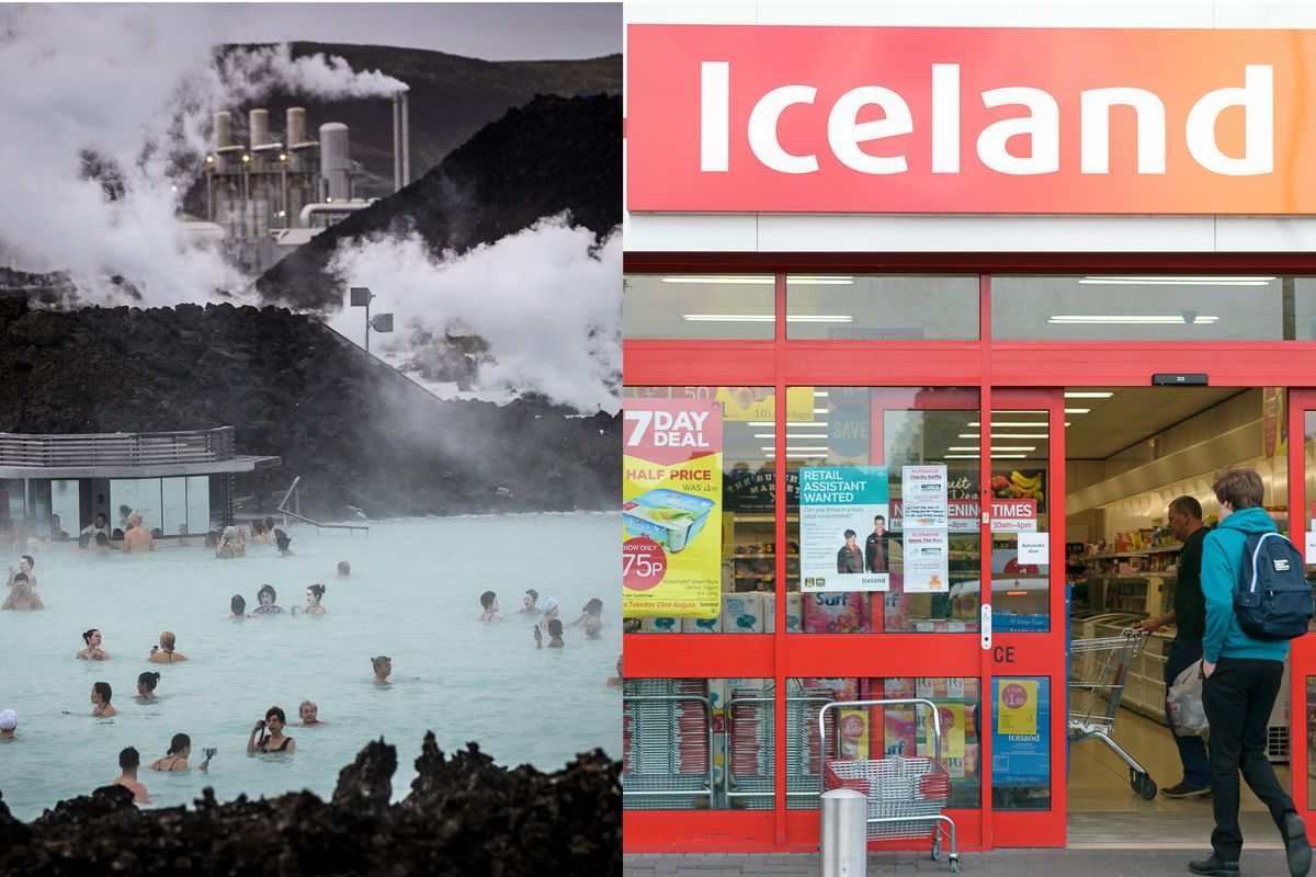 Iceland Foods Supermarket loses EU trademark battle to Iceland, the country, famous for Reykjavik and Blue Lagoon