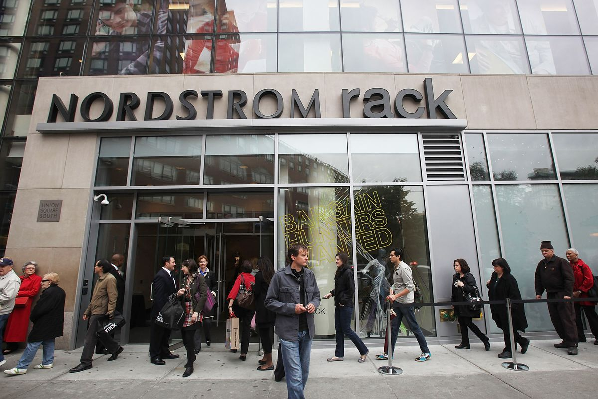The Nordstrom Rack in Union Square