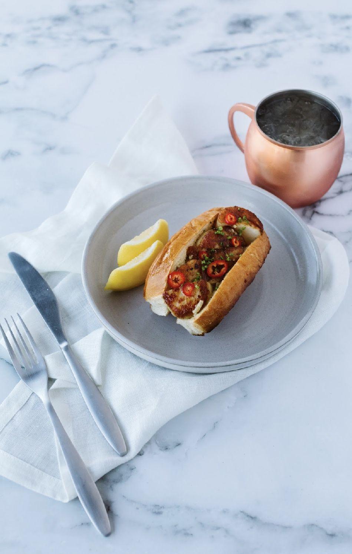 A sandwich from the Garden at Ellera