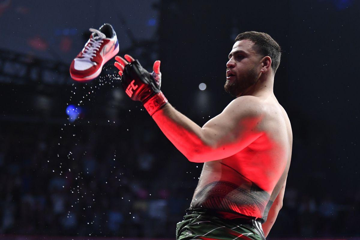 UFC 264: Tuivasa v Hardy