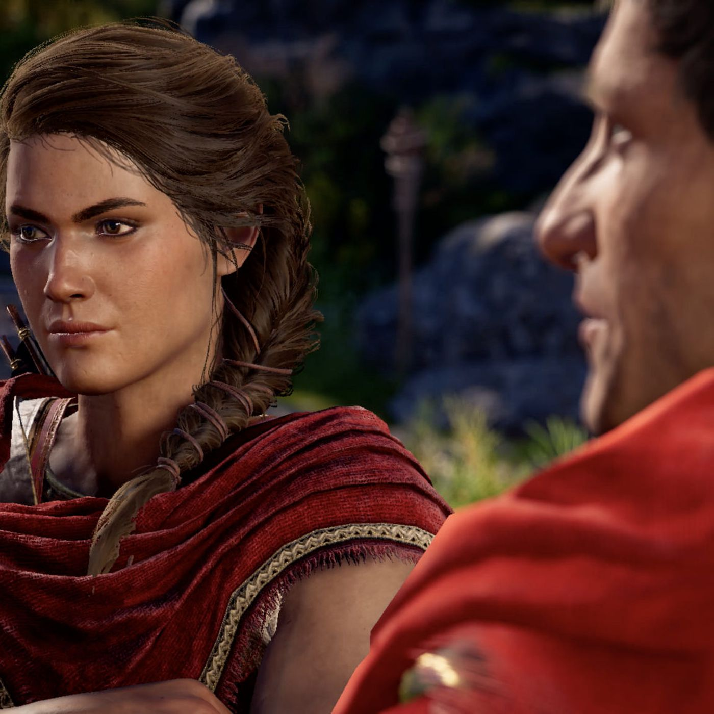 beautiful assassins creed odyssey gameplay
