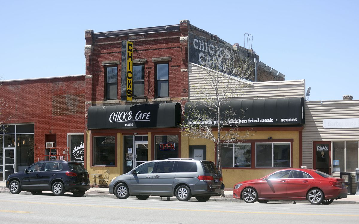 Main Street in Heber City is pictured on Thursday, May 6, 2021.