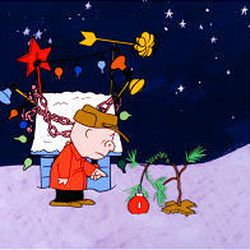 """""""A Charlie Brown Christmas"""" aired to critical acclaim, although CBS executives thought it """"flat."""""""