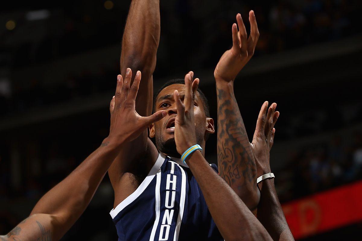 I feel like this photo is PJ3's NBA career in a nutshell.