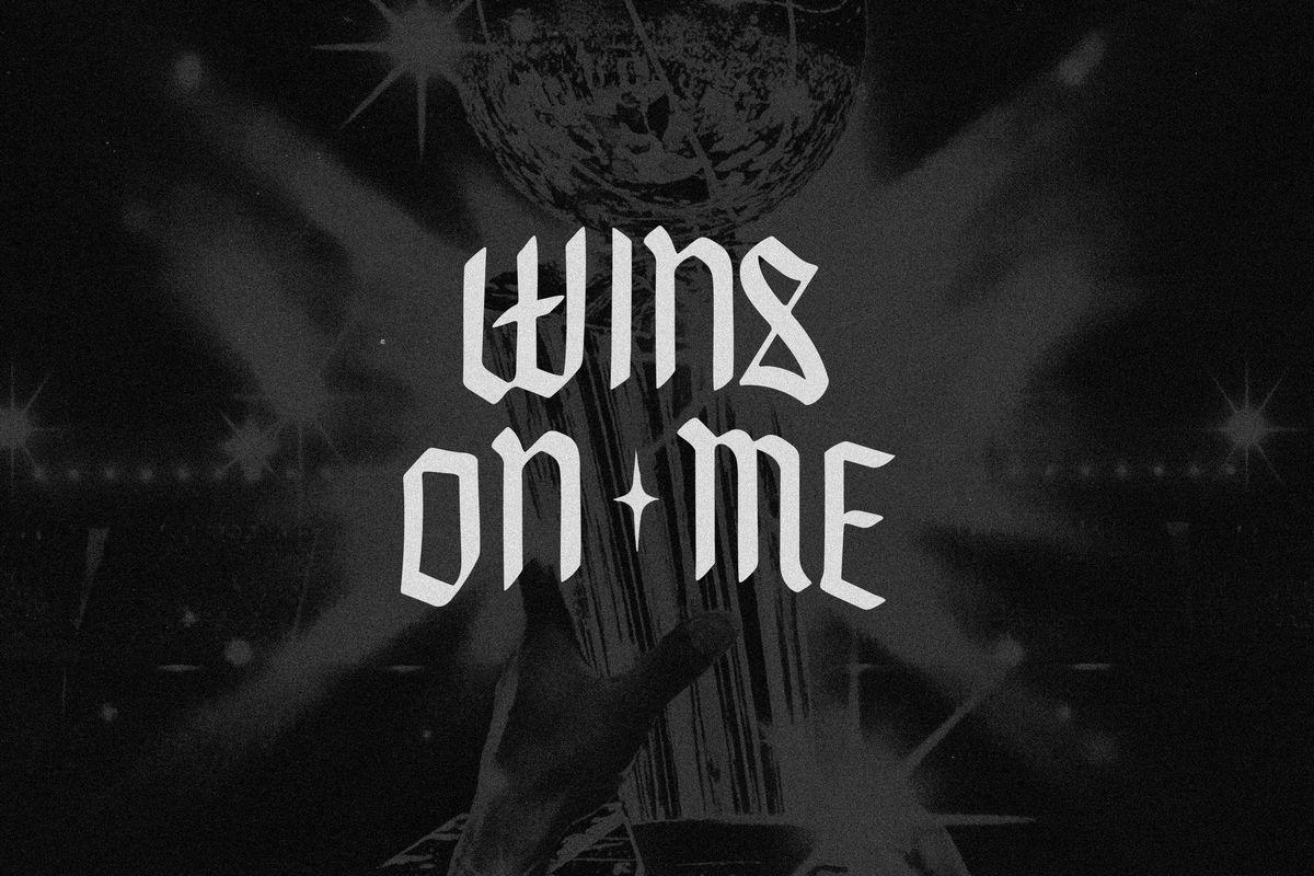 "Derek Minor's ""Wins On Me"" artwork"
