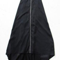 Collared halter dress, $485