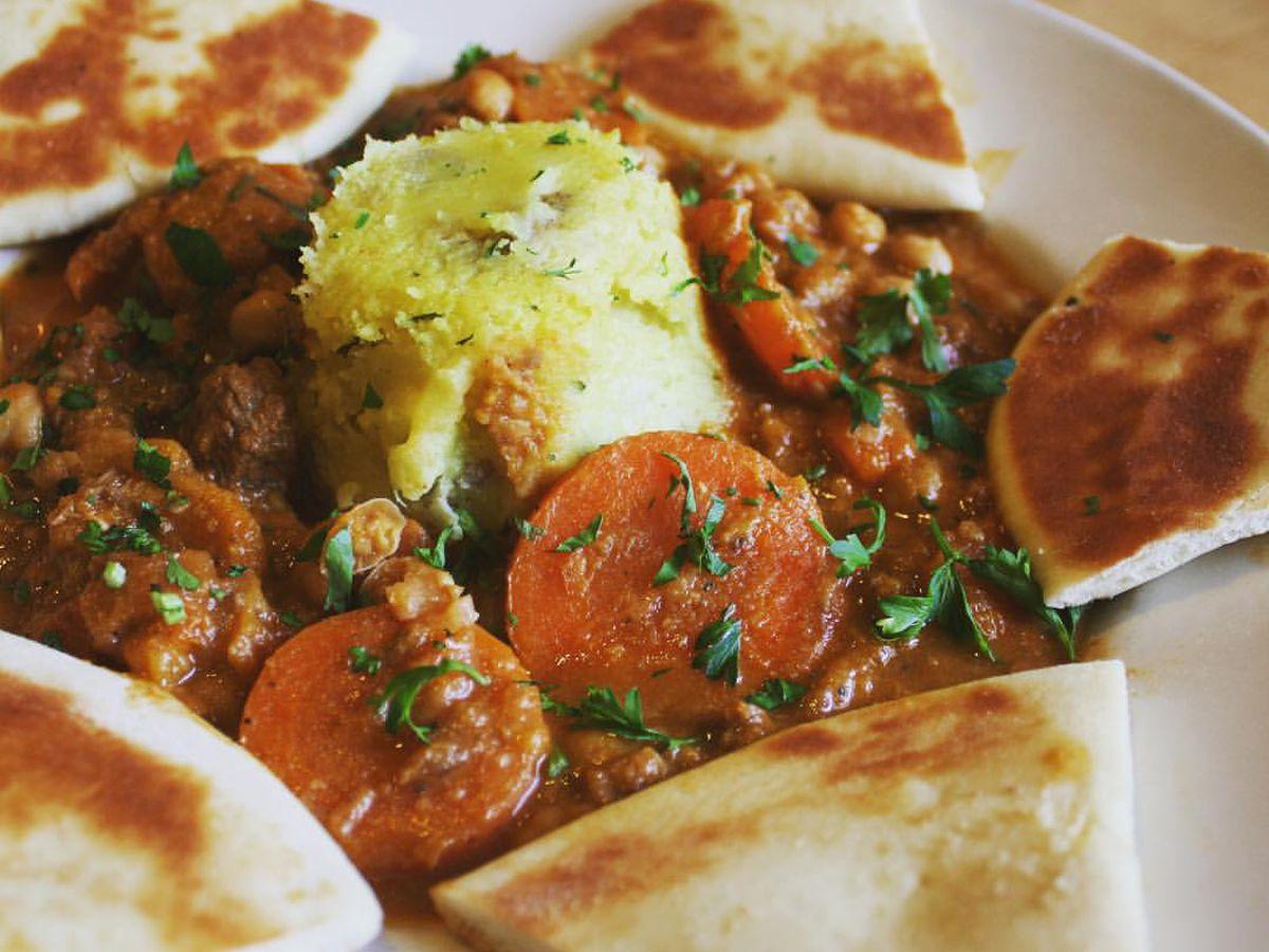 Kerbey Lane's Moroccan Beef