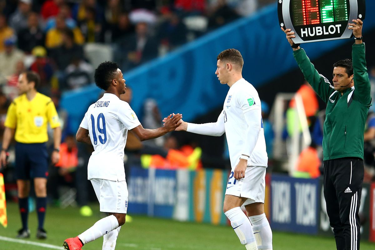 Team-mates for country, but for club as well?