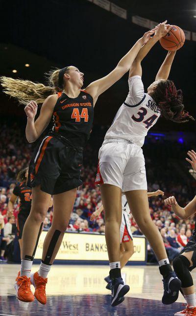 COLLEGE BASKETBALL: JAN 10 Women's Oregon State at Arizona