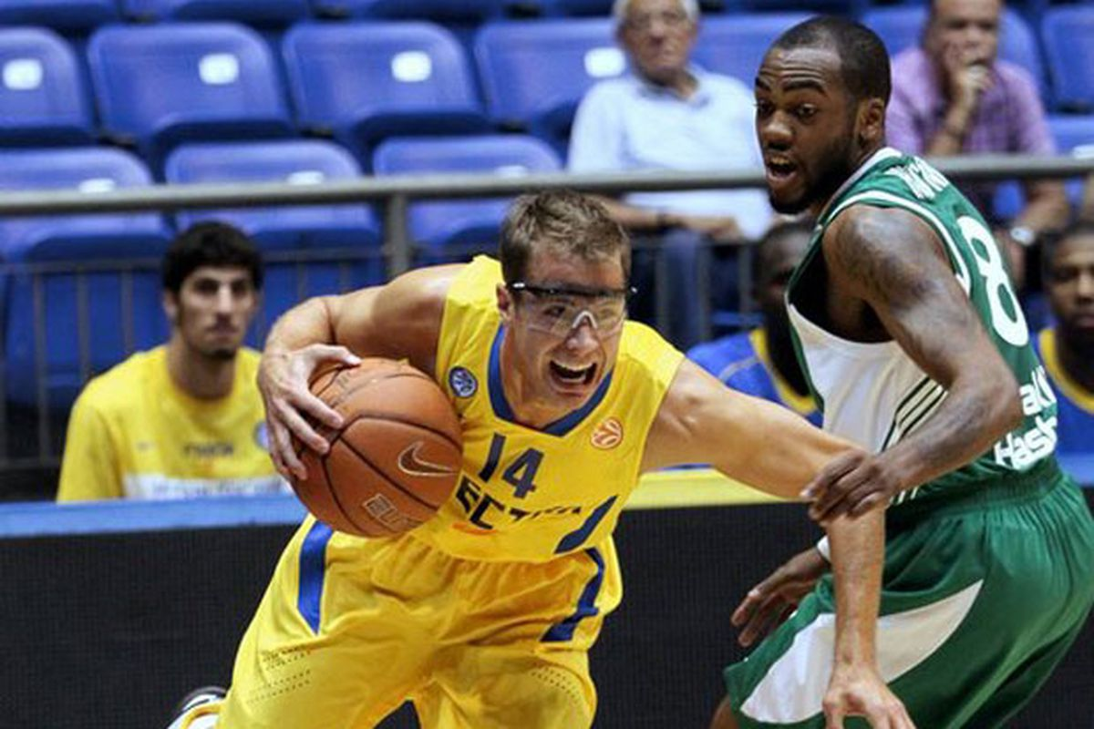 """After a disappointing first season with Maccabi Electra Tel Aviv where the former Duke Blue Devils' guard averaged 12 minutes per game, Jon Scheyer has left Maccabi due to """"personal reasons"""" according to the team."""