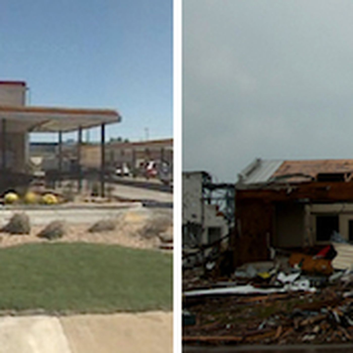 a sonic in joplin missouri before and after the tornado eater a sonic in joplin missouri before and