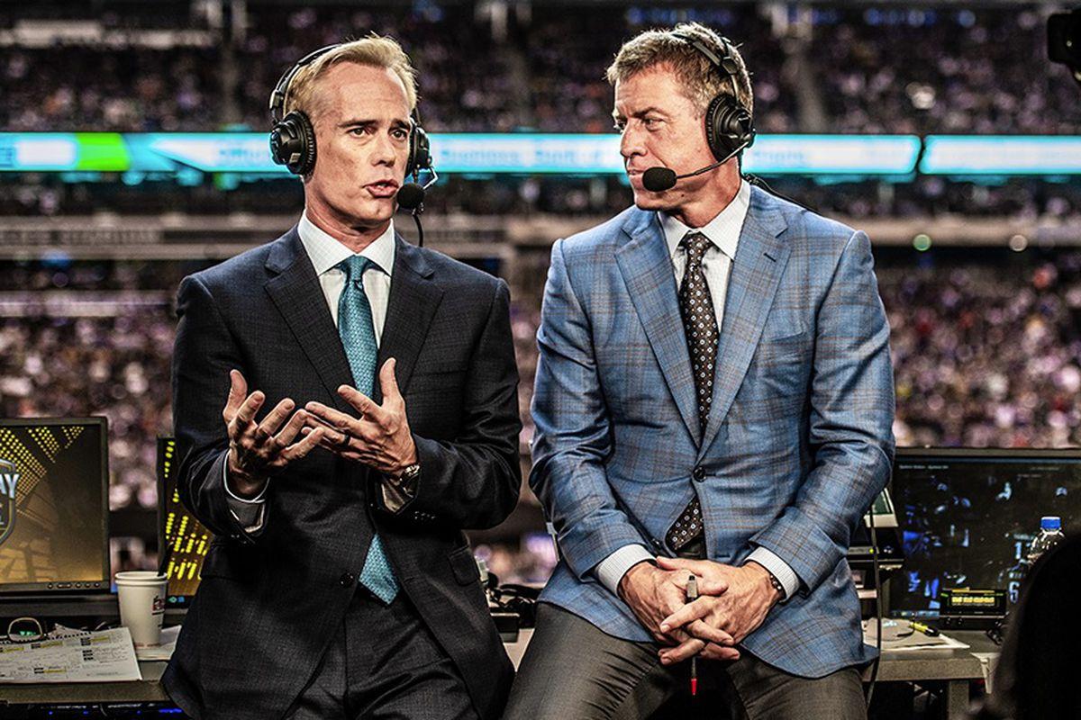 Fox's top crew of Joe Buck and Troy Aikman didn't call a Bears game last season until Week 17.