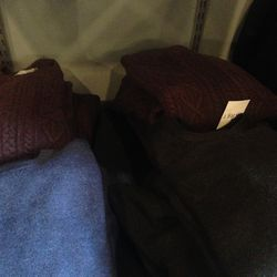 Sweaters, $70