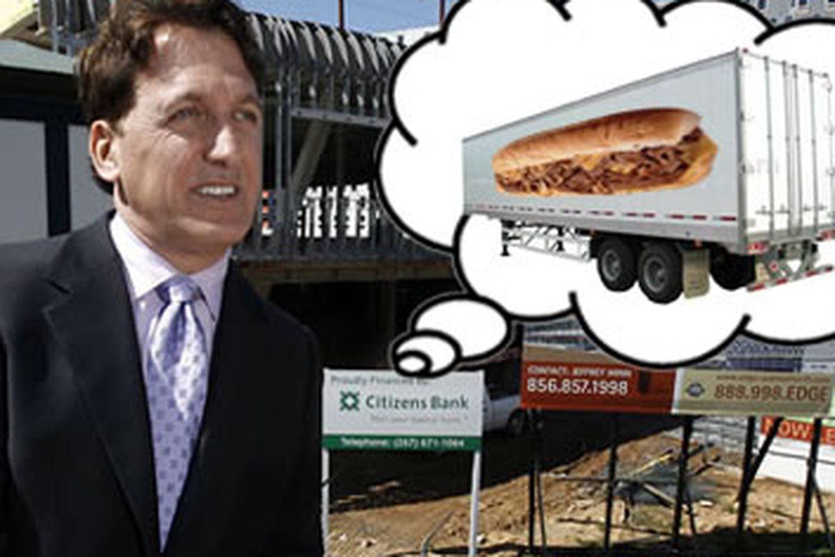 Is Bart Blatstein working on a mega-food truck? Lotta dream bubbles today.