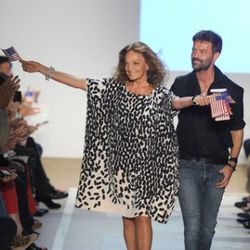 DVF's finale. Photo credit: Getty Images
