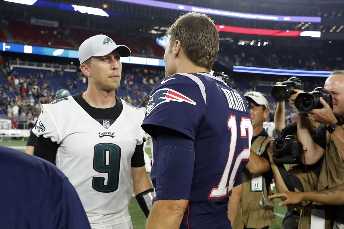 NFL: AUG 16 Preseason - Eagles at Patriots