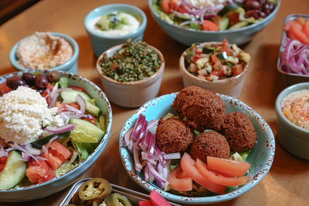 A collection of healthy and flavorful dishes still being served daily by Stephano's Greek & Mediterranean Grill.