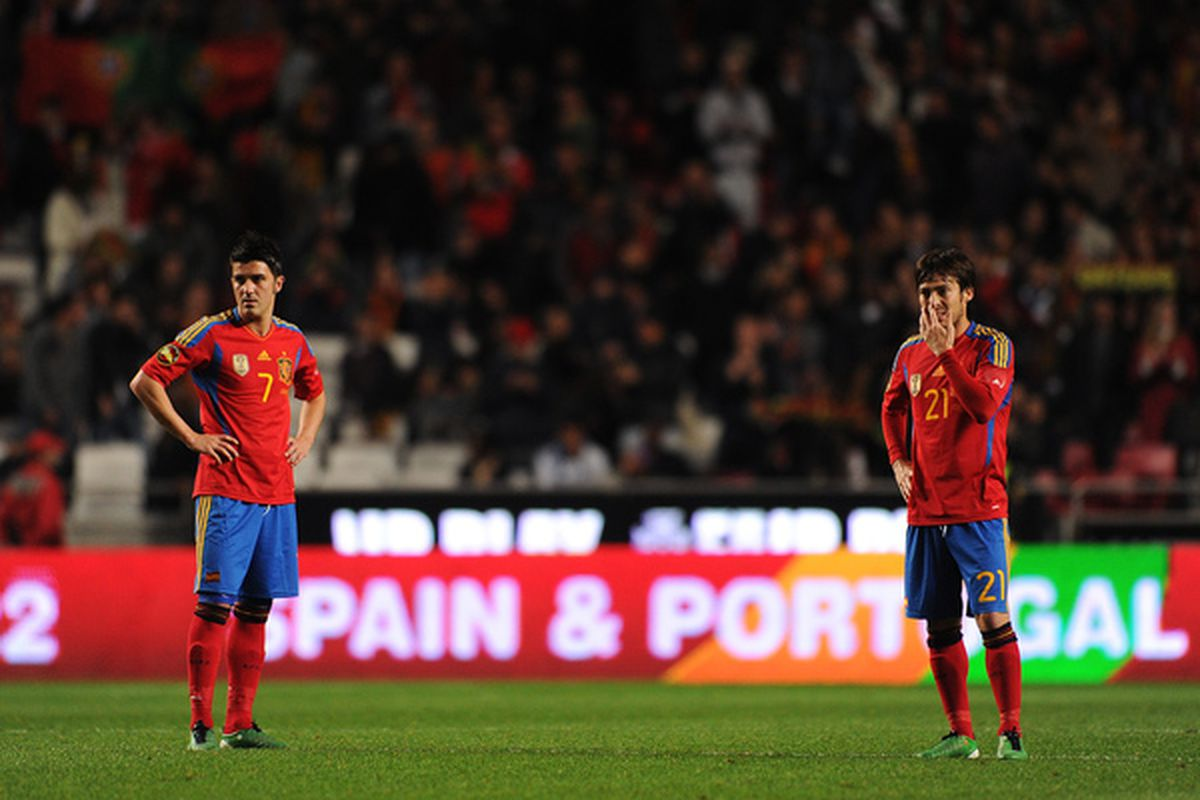 Two Davids led Spain to another victory.