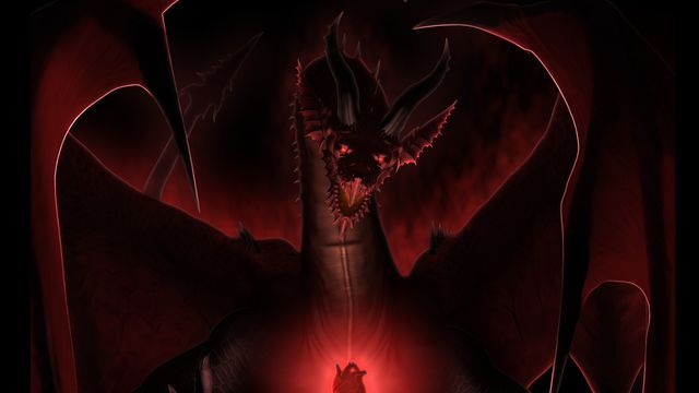 The poster for Netflix's Dragon's Dogma animated series