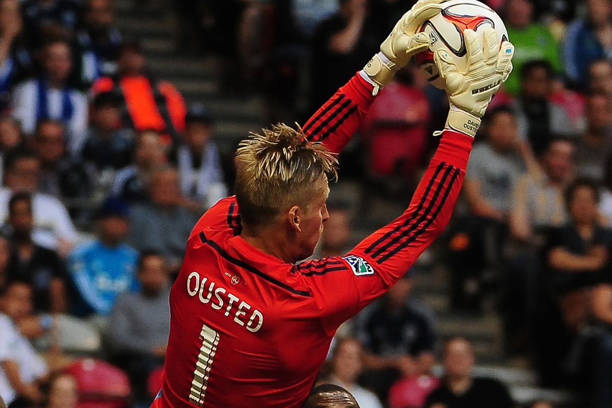 David Ousted claimed his 4th clean sheet of the season Saturday, as the Whitecaps downed the Sounders 1-0.