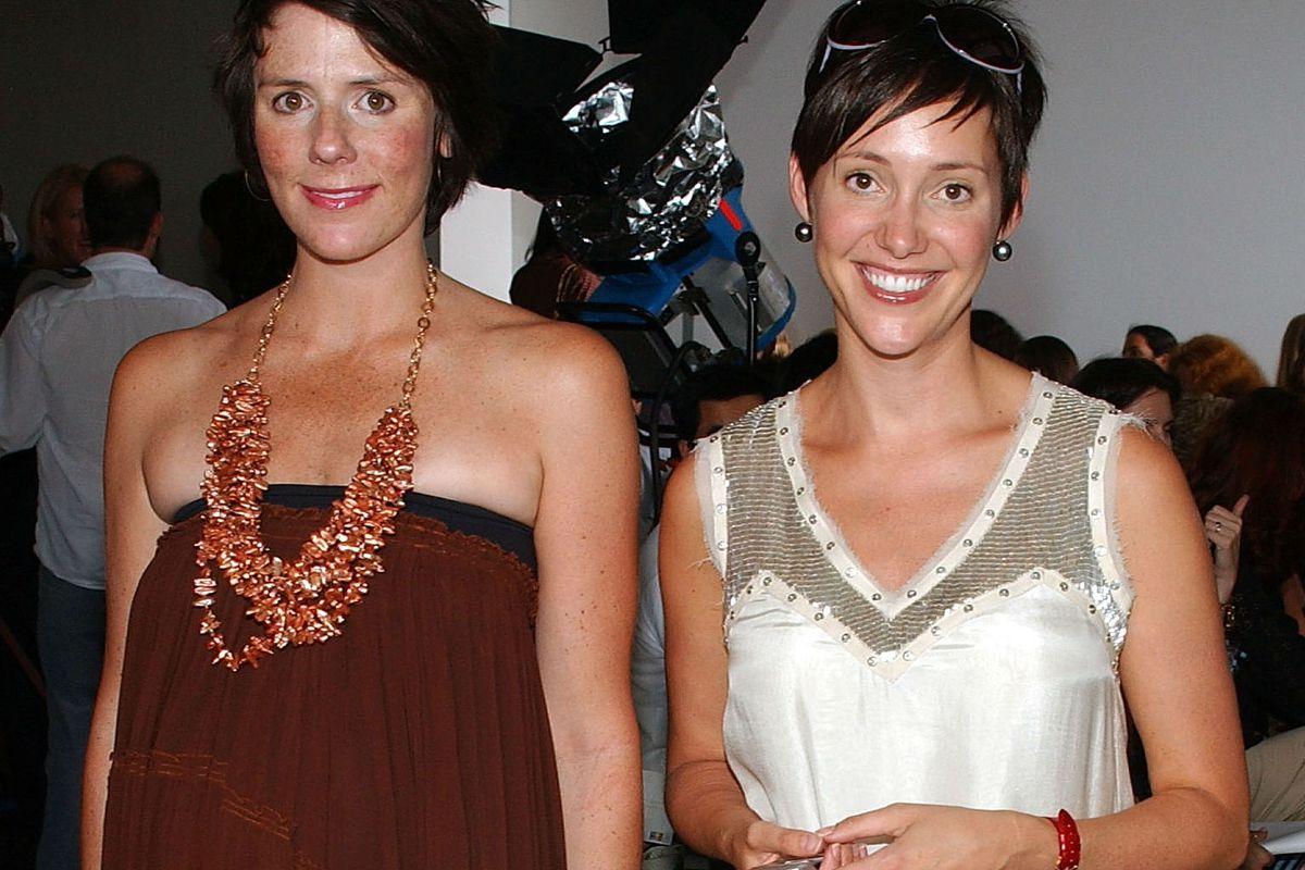 Sarah Easley and Beth Buccini, co-founders of SoHo's popular Kirna Zabête, via Getty
