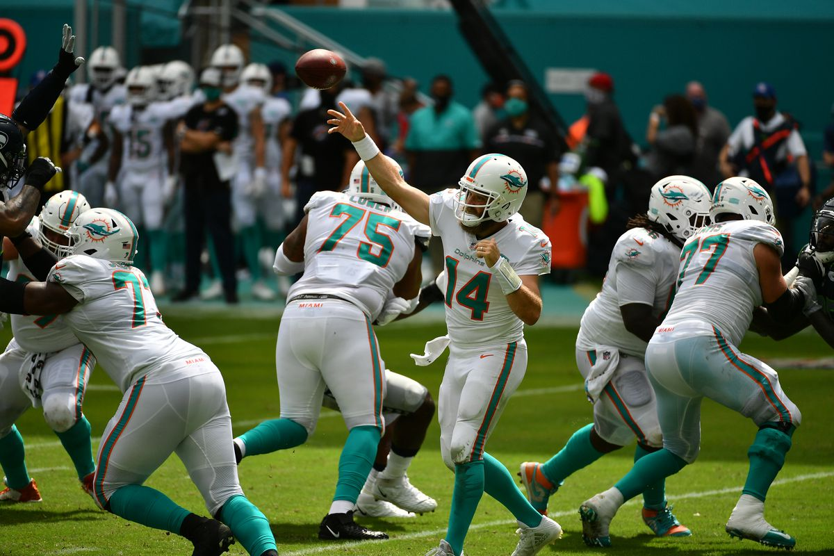 NFL: Seattle Seahawks at Miami Dolphins