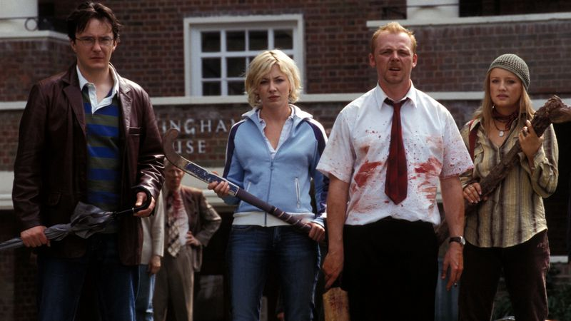Shaun Of The Dead Wallpaper 64821 Movieweb