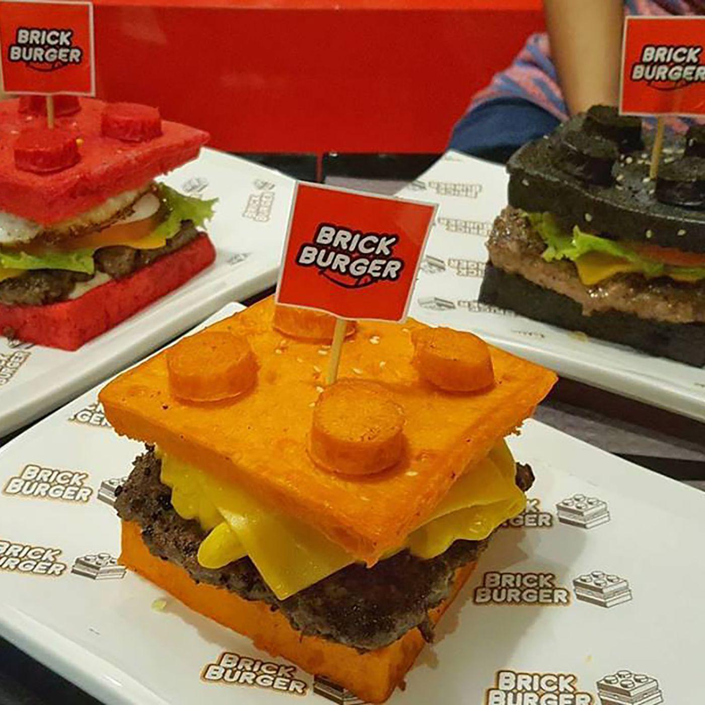 Lego Fan Opens Brick Burger Restaurant Eater